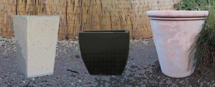 como fabricar macetas con cemento