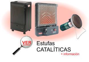 Ver informacion sobre estufas cataliticas