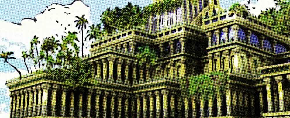 Los jardines colgantes de babilonia mitos y verdades for Jardines colgantes de babilonia