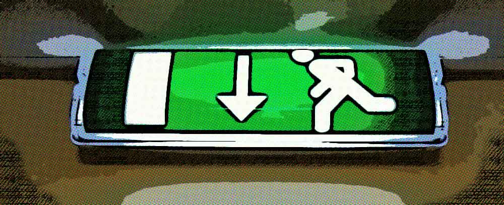normativas para escaleras de emergencia