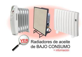 ver informacion sobre radiadores de aceite de bajo consumo