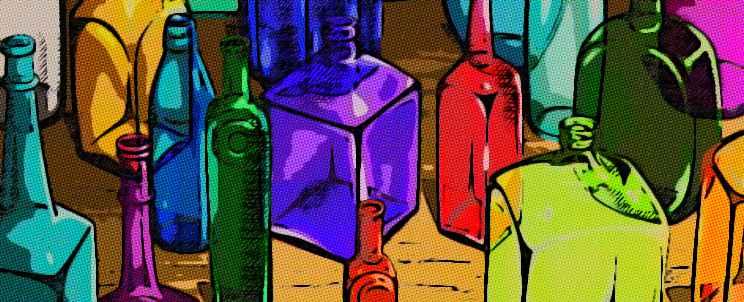 ¿cómo hacer manualidades con botellas?