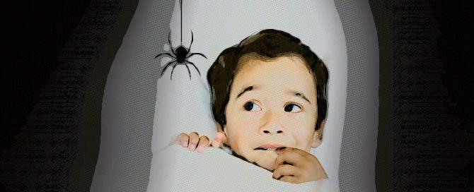 Síntomas de picaduras de insectos en niños