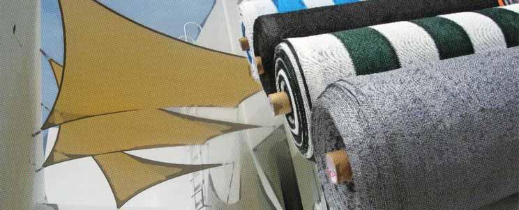 Tipos de telas para media sombra
