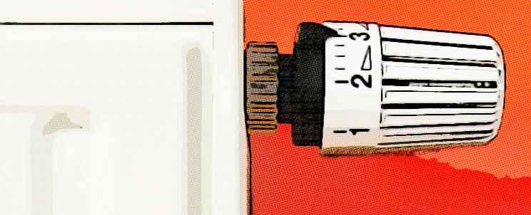 Calefacción con radiador de aceite de bajo consumo