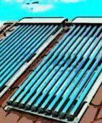 Calentamiento del agua con energía solar