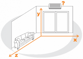esquema cálculo frigorías metro cúbico