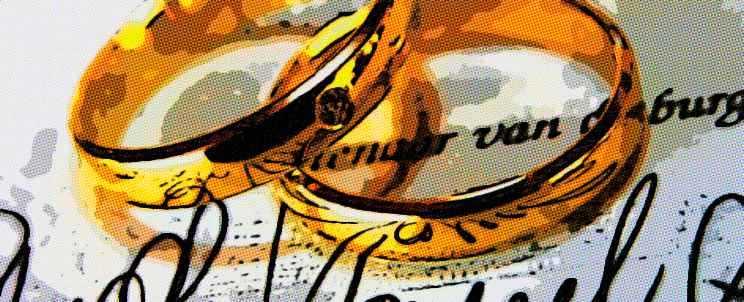 Grabados de anillos de matrimonio: sugerencias y frases