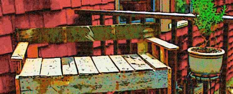 Hermosos muebles hechos con palets reciclados