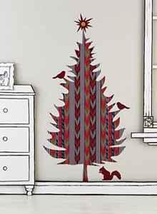 diseos de rboles de navidad en la pared fotos para inspirarse