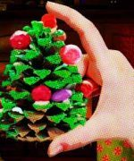 ¿Cómo hacer mini arboles de navidad?