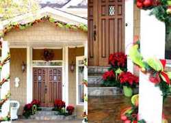decoración navidad exteriores bellas