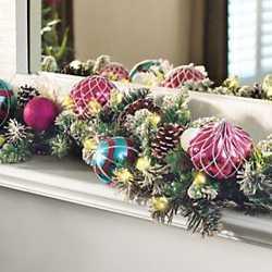 Fotos con ideas para decorar con luces led tu navidad for Luces led para decorar