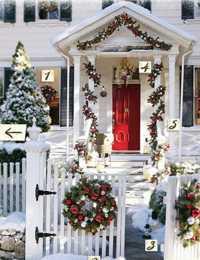 Fotos para la decoraci n navide a de exteriores - Decoracion navidena exterior ...