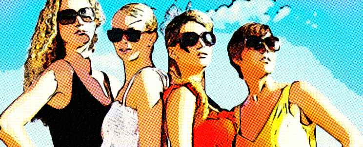 Moda mujer playa 2014: colores y tendencias