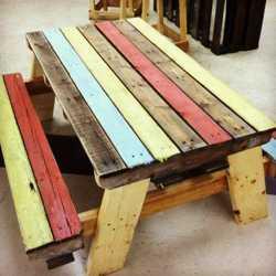 Fotos de los m s bellos muebles hechos con palets for Muebles seres