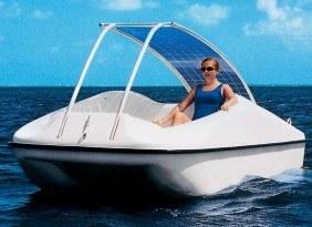 paneles solares barcos modernos