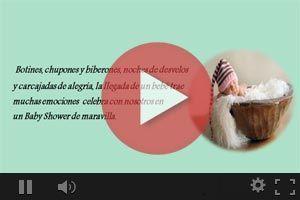 video de frases emotivas para reflexionar en la fiesta de babyshower
