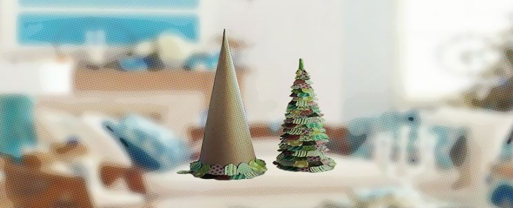 Cmo hacer un rbol de navidad casero