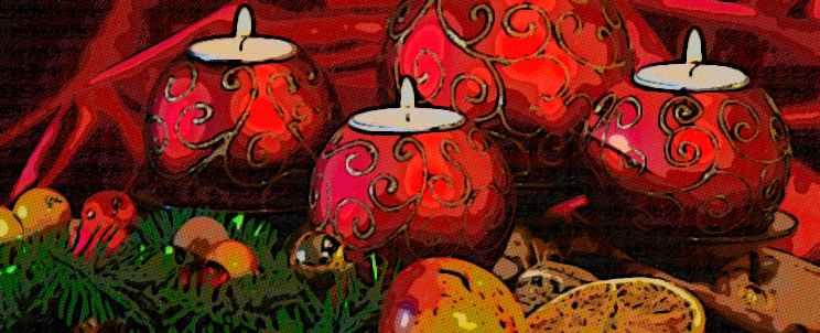 ¿Cómo hacer velas decoradas para navidad?