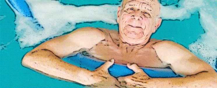 Actividades deportivas acuáticas para la tercera edad