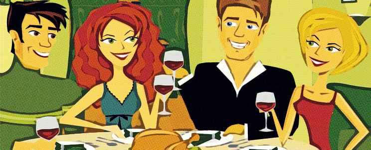 Ideas para cenar con amigos en casa y agasajarlos for Ideas para hacer de cenar