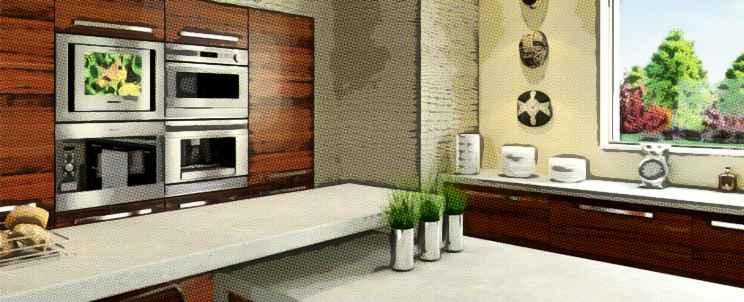 Cu l es el mejor material para encimera de cocina - Material encimera cocina ...