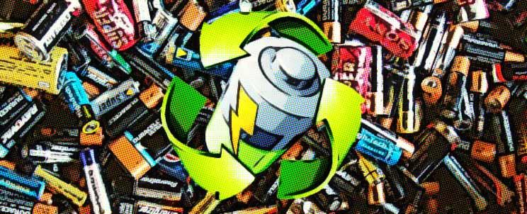 Cómo ocuparse del reciclado de pilas y baterías
