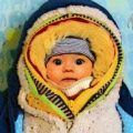 Consejos para vestir a un bebé recién nacido en inverno