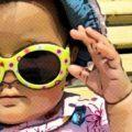 consejos para vestir a un bebé recién nacido en verano