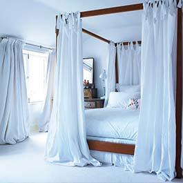 Fotos de cortinas para dormitorios de hombres for Cortinas blancas dormitorio