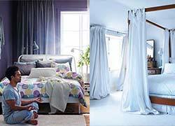 cortinas para dormitorio de hombres modelos