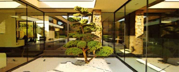 Originales ideas de decoraci n zen para un patio interior for Como decorar un patio interno
