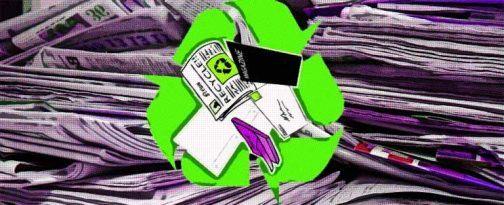 ¿Cómo reciclar papel y cartón?