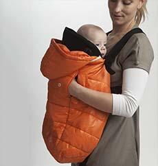 vestir bebé invierno madre