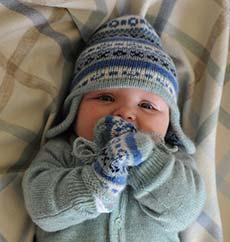 vestir bebé invierno