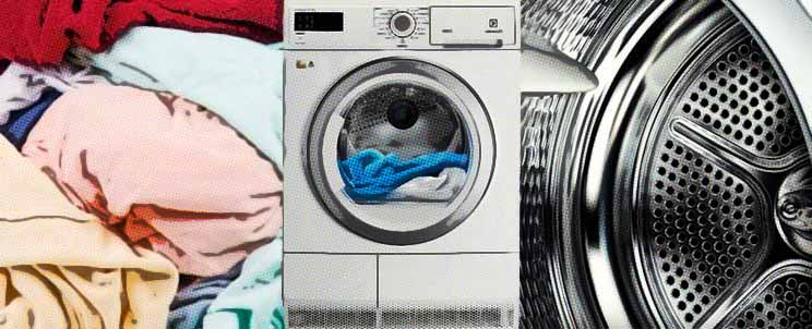 características de las secadoras de ropa con bombas de calor
