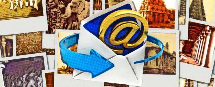 ¿Cómo comprimir mis fotografías para poder enviarlas por email?