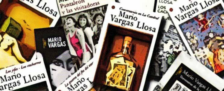 Novelas, cuentos y relatos de Vargas Llosa