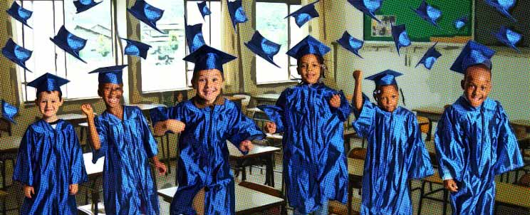 Adornos Y Arreglos De Graduación Infantil Para Primaria