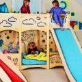 Camas infantiles con tobogán