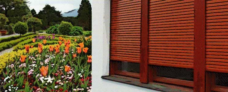 Clases de persianas de madera de exterior