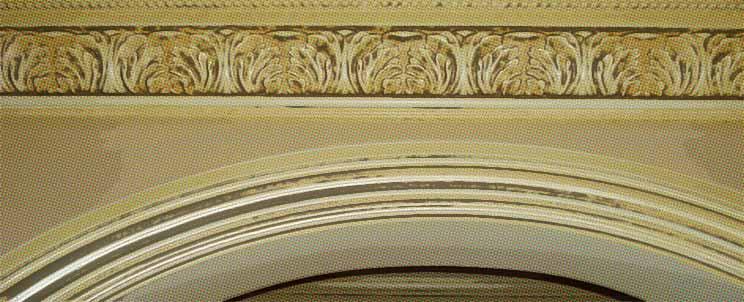 ¿Cómo hacer curvas con molduras de yeso?