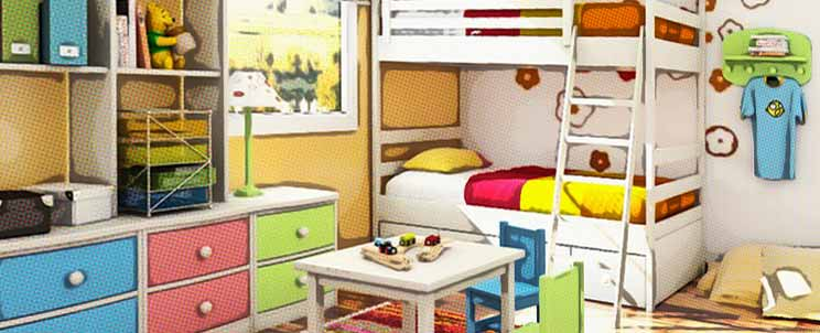 Ideas de muebles infantiles originales y decorativos