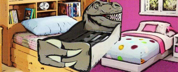 Ideas de respaldos creativos de cama infantil