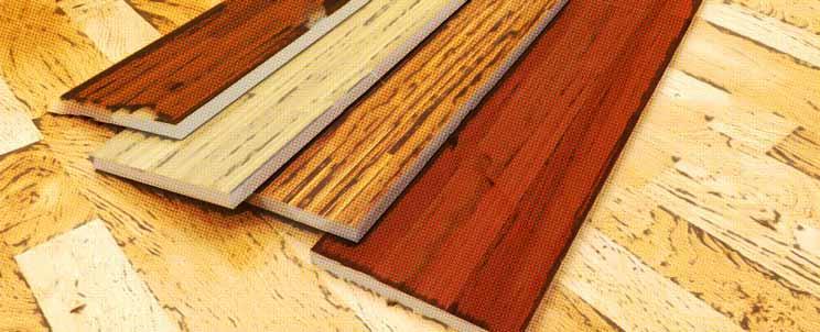 tipos de parquet según colores y materiales