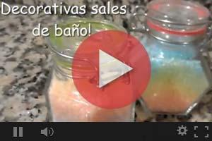 videos sales de baño caseras