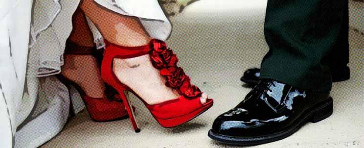 Zapatos de vestir a la moda