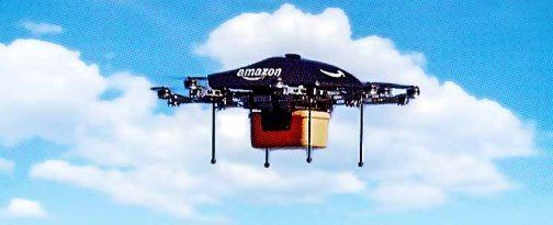 dron de amazon para delivery