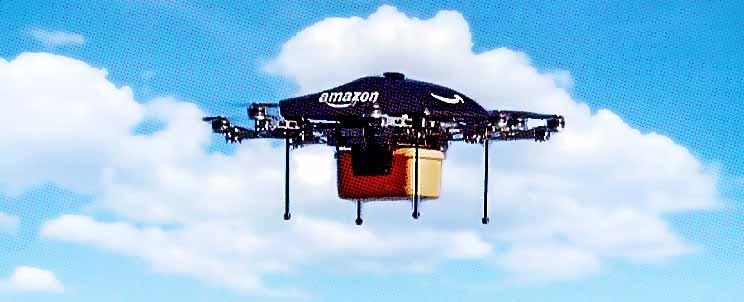 dron de amazon para delivery